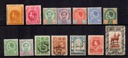 Siam Belle Petite Collection D'anciens Neufs Et Oblitérés 1883/1924. Bonnes Valeurs. B/TB. A Saisir! - Siam