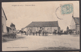 28 - PUISEUX - Place De La Mairie - Autres Communes