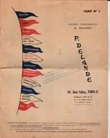 Paris - Catalogue Delande ( Insignes ,médailles ,drapeaux; ... ) - Other