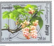2016. Georgia, Flowers, 1v, Mint/** - Georgia