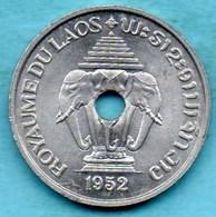 (r65)  LAOS  20 Cents 1952 - Laos