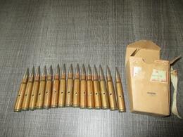 Boite Complète15 Cartouches 7,92  Mauser  Neutralisées - Decorative Weapons