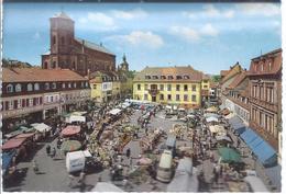 Homburg - -saar - Marktplatz     V-4-386 - Saarpfalz-Kreis