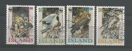 Iceland 1992 WWF Birds Of Prey Y.T. 729/732 (0) - 1944-... Republic