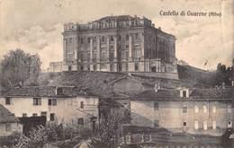 """0095 """"(CN)  ALBA - CASTELLI DI GUARENE"""" PAESAGGIO. CART  SPED 1921 - Cuneo"""