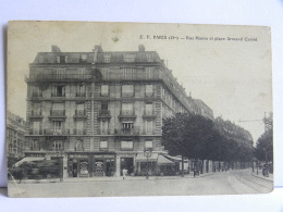 CPA (75) Paris - PARIS - Rue Manin Et Place Armand Carrel - Arrondissement: 19