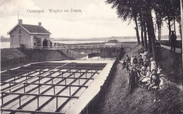 THOLEN 1913 OESTERPUT WAGTHO EN ZONEN - MOOIE ANIMATIE - HUITRES OESTERS OESTERCULTUUR - Tholen