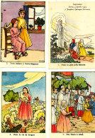 32 CARTE  IMAGERIE  RELIGION IMPRIMATUR  LEIRIA 4 APRILIS 1955 JOSEPBUS EPISCOPUS LEIRIENSIS  (format 10cmx 7cm) - Images Religieuses