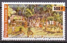 French Polynesia (Polynésie Française) 2004 Tourism Sites, Culture Dance (1v) MNH (M-110) - French Polynesia