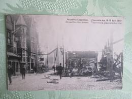 Bruxelles  .  Kermesse . Incendie Des 14.15 Aout 1910 - Foreste, Parchi, Giardini