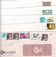 OCASION LIQUIDACION LOTE AÑOS 90 : MAS DE 1000 SOBRES (200 CONMEMORATIVOS, 600 BASICA REY, 200 F.M., 28 A.T.M.) - 1931-Today: 2nd Rep - ... Juan Carlos I