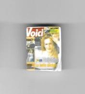 Féve  Média, Journal, VOICI   Recto  Verso - Fèves