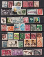 World Mixed Selection Of 41 Used Stamps Various Countries ( 1096 ) - Stamps