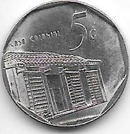 *cuba 5 Centavos 2000  Km 572.2   Unc - Cuba