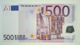 EURO-GERMANY 500 EURO (X) R013 Sign TRICHET - EURO