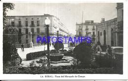 95716 SPAIN ESPAÑA LA BISBAL PLAZA DEL MARQUES DE CAMPS PHOTO NO POSTAL POSTCARD - Fotografie