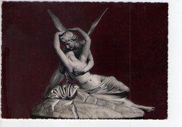 U2992 Cartolina Con La Scultura Di AMORE E PSICHE Di Canova - Villa Carlotta, Lago Di Como _ Sculture, Sculpture - Sculptures