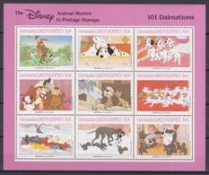 2285  WALT DISNEY - GRENADA  GRENADINES  ( Animal Stories ) Seen By Walt Disney Productions. - Disney