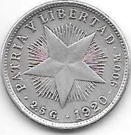 *cuba 10 Centavos 1920  Km A12   Xf+ !!!!! - Cuba
