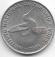 Cuba 10 Centavos 1981  Km 415.1   Xf+ !!!!! - Cuba