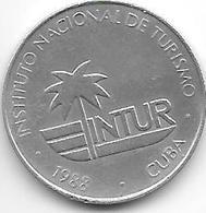 *cuba 10 Centavos 1988  Km 416   Xf+ - Cuba
