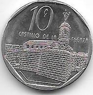 *cuba 10 Centavos 1996  Km 576.2   Xf+ - Cuba