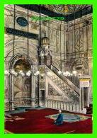 LE CAIRE, ÉGYPTE - THE ALABASTER MOSQUE AT THE CITADEL -  LEHUERT & LANDROCK - - Le Caire