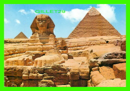 GYZEH, ÉGYPTE - LE GRAND SPINX ET PYRAMIDE DE CHÉPHREN -  LEHNERT & LANDROCK - - Gizeh