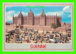 MALI, AFRIQUE - MOSQUÉE DE DJENNE - CIRCULÉE EN 1994 - PHOTO, DIANGO CISSE - - Mali