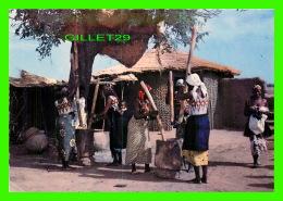 HTE VOLTA, BURKINA FASO - PILEUSES DE MIL - ÉCRITE -  EDITIONS LA SAVANE - - Burkina Faso