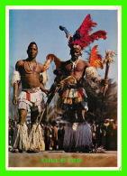 AFRIQUE DU SUD - COLOURFUL BANTU MINE DANCERS - TRAVEL IN 1972 - ARTCO - - Afrique Du Sud