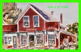 SHELBURNE, VT - SHELBURNE COUNTRY STORE ON THE VILLAGE GREEN SHELBURNE - TRAVEL IN 1966 - - Etats-Unis