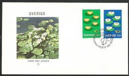 Sweden 1977 Mi 972-973 FDC ( FDC ZE3 SWD972-973 ) - Sweden