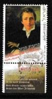 ISRAEL, 2001, Mint Never Hinged Stamp(s), Heinrich Heine, M 1644,  Scan 17130, With  Tab(s) - Israel