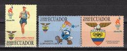 ATLANTA 1996 GAMES   -  ECUADOR    O680 - Ete 1996: Atlanta