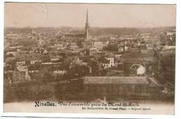 Nivelles - Vue D'ensemble Prise Du Mont-St-Roch - Ed. Dusépulchre - 2 Scans - Nivelles