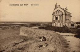 CPA 14 BERNIERES SUR MER La Cassine - France