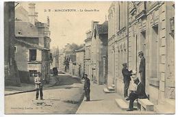 MONCONTOUR - La Grande Rue - France