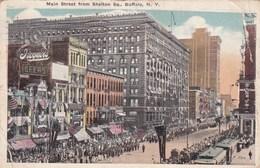 Main Street From Shelton Sq, Buffalo NY (pk49832) - Buffalo