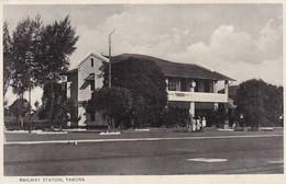 Postcard Railway Station Tabora Tanzania By Moloo Brothers My Ref  B12324 - Tanzania