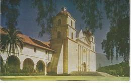CPA ETATS UNIS - CALIFORNIA - SANTA BARBARA - MISSION SANTA BARBARA - Santa Barbara