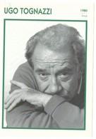 4 Photos Portraits Acteurs Célèbres + Fiche Biographique Format 13/18 Cm. - Attori
