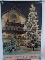 AFFICHE : ALLEMAGNE ,  Weihnachten In Kochel An See ,bayerische Alpen  , H 74  L 50 - Affiches