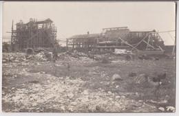 CARTE PHOTO LA ROCHELLE - CATASTROPHE DE L'USINE D'EXPLOSIFS VANDIER A LA PALLICE 01/05/1916 - ECRITE 1916 - 2 SCANS - - La Rochelle