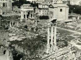 Italie Roma Rome Forum Foro Romano Ancienne Photo 1961 - Places