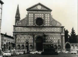 Italie Florence Firenze Eglise Santa Maria Novella Ancienne Photo 1961 - Places