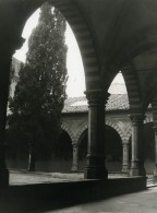 Italie Florence Firenze Cloitre Santa Maria Novella Ancienne Photo 1961 - Places