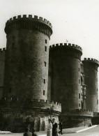 Italie Napoli Naples Castel Nuovo Ancienne Photo 1961 - Places