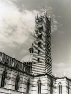 Italie Sienne Duomo Di Siena La Cathedrale Ancienne Photo 1961 - Places