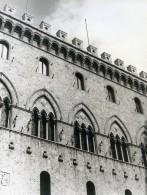 Italie Sienne Siena Palazzo Chigi-Saracini Ancienne Photo 1961 - Places